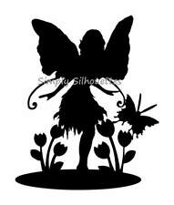 Garden Fairy Silhouette Die Cuts - Fairy Lanterns, Card Toppers, Other Projects