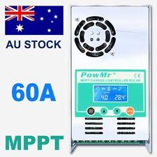 60A Solar Charge Controller MPPT For DC 12V 24V 36V 48V Auto Battery Regulator