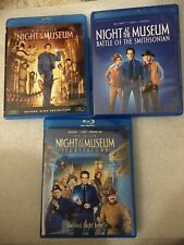 Night at the Museum 1, 2  and 3 Blu-ray Trilogy, 3 Movies