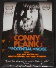 CONNY PLANK the potential of noise USA DVD new DEVO ultravox NEU! eurythmics