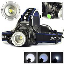 12000LM Zoomable XM-L T6 LED Wiederaufladbare Scheinwerfer Taschenlampe Schei KS