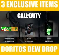 Call of Duty Modern Warfare 2019/ 3 exclusive items with Doritos