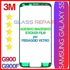 ADESIVO BiADESIVO Fissaggio Incollaggio VETRO SAMSUNG GALAXY S5 G900F G900
