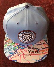 ADIDAS NEW YORK CITY FOOTBALL CLUB FC HAT 1/1 RARE SAMPLE MLS SOCCER CAP