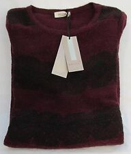 Ladies Marks and Spencer per Una Claret Lined Jumper Dress Size 14