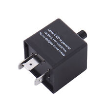 3 Pin Electronic LED Flasher Relay New for Car Turn Signal Light Adjustable X1