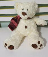 MYER TEDDY BEAR BAXTER  RED SCARF 32CM! PROMOTIONAL TEDDY BEAR!