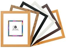 Flat Modern Wood Effect Picture Poster Photo Frames A1 A2 A3 A4 Fast Dispatch