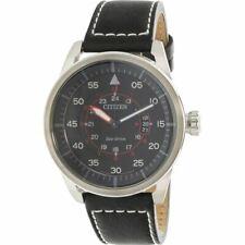 Original Citizen Aw1360-04e Eco-drive Watch Men Aviator Power Reserve 44mm 10atm