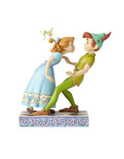 Jim Shore - Disney Tradition 4059725 Peter Pan e Wendy 65th