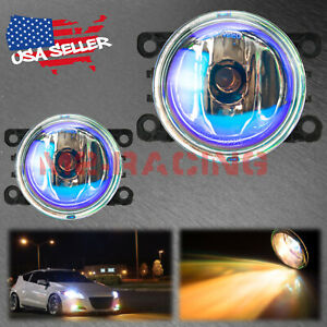 For 14-21 Honda Fit/Jazz Pair Neo Lens Lamp Fog Light OEM Quality Replacement F6