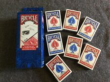 7 Packs Sealed Bicycle Playing Cards Standard Size/face Poker Games