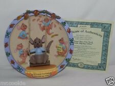 Some Days You Need A Little Hip-Hop A-Roo 3D Plate 100 Acre Days Collection Coa