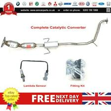 TOYOTA AURIS 1.8i Hybrid Euro5 10-12 Catalytic Converter Fit Kit  Lamdba Sensor