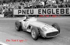 Juan-Manuel Fangio Mercedes W196 ganador belga Grand Prix 1955 fotografía 1