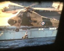 New ListingVintage 16mm Movie Film Royal Navy Helicopters Aircraft Carrier R07 600Ft