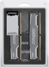 Crucial Ballistix Sport Kit de 16 GB (8 Gb X 2) DDR4 2400MHZ Memoria Ram