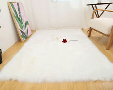 Luxury Artificial Sheepskin Rug Hairy Carpet For Living Room Faux Fur Rugs