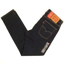Levis 510 Jeans Skinny Fit Mens New RINSE (Dark Blue) SIZE 33 x 30 Levi's NWT