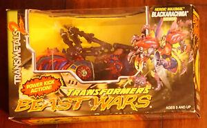 Hasbro Kenner Transformers Beast Wars Transmetal 2 Blackarachnia MISB new unopen