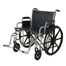 "Medline Extra-wide Bariatric Wheelchair With 24"" Seat MDS806900"
