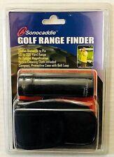 Sonocaddie Golf Range Finder Compact 8x Optical Magnification 50-200 Yard Range