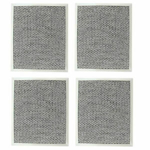 Kitchen Basics 101 Aluminum Hood Vent Filter 4 Pack 97006931 Replacement