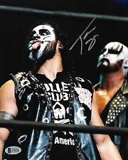 Tama Tonga Signed 8x10 Photo BAS COA New Japan Pro Wrestling Bullet Club Kiss 1