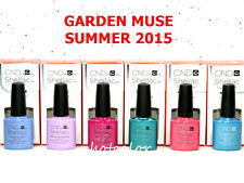 CND UV Gel Polish SUMMER 2015 GARDEN MUSE Collection 6 Colors of Set