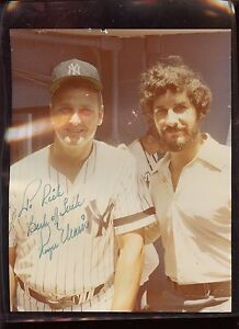 Roger Maris New York Yankees Photo Autographed Hologram
