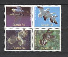 Canada 1986 Birds/Owl/Heron/Grouse/Goose blk   (n19552)