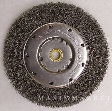 """6"""" Crimped Wire Wheel Brush for Bench Grinder"""