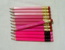 """24 """"Shades of Pink""""  Personalized Golf Pencils with Erasers"""