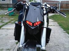 Crypto Custom motorcycle Streetfighter mask headlight universal light fairing