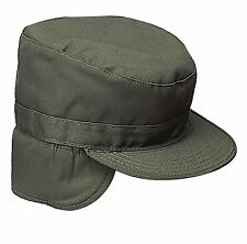 bccc795daf5 Rothco Combat Cap With Flaps in Olive Drab 7.25