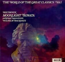 BEETHOVEN Sonatas LP Used