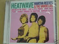 Martha Reeves & The Vandellas Heatwave CD New Sealed 4322
