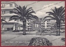 SAVONA PIETRA LIGURE 36 GIARDINI Cartolina viaggiata 1958