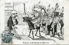 ENTRéE D'ARMAND à L'ELYSéE. POLITIQUE. HISTOIRE. CHANGEMENT DE PROPRIéTAIRE.