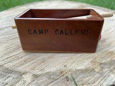 Beautiful Doug Camp Vintage Camp Callers Push Pin Turkey Call