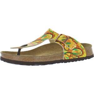 Papillio by Birkenstock Womens Gizeh Birko-Flor Footbed Sandals Shoes BHFO 3018