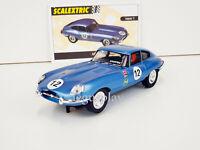 """Slot car Scalextric Altaya Jaguar E. #12 """"Collección Coches Miticos"""""""