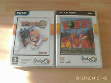 worms 3d & worms    new&sealed