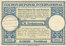 Germany - 1940 - Johann - 25 on 30 pf. - Coupon-reponse - RARE