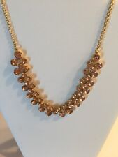 J Crew factory Crystal bubbles necklace comes with J Crew bag