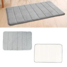 New Home Bath Mat Slip protection Bathroom Carpet Soft Coral Fleece Memory Foam