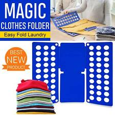 Clothes Folder Magic Fast Laundry Organizer Creative T-Shirt  Folding Board