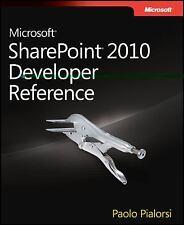 Microsoft SharePoint 2010 Developer Reference by Paolo Pialorsi (2011)