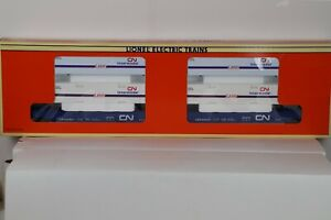 Lionel 6-16912 Canadian National Maxi - Stack Flat Cars w Free ship!