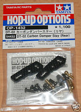 Tamiya 54432 DT-02 Carbon Damper Stay (Rear) (DT02/DT02MS), NIP